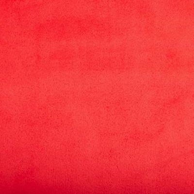 Remnant - Shannon Fabrics - Smooth Cuddle 3 Plush Fabric - Cherry Red - 50 x 150cm - Bolt End