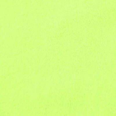 Remnant -Shannon - Smooth Cuddle 3 Plush Fabric - Lime - 80 x 150cm - Bolt End