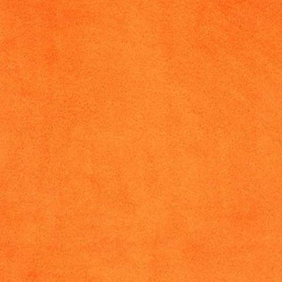 Remnant -Shannon Smooth Plush Fabric - Orange - 94 x 150cm - Bolt End
