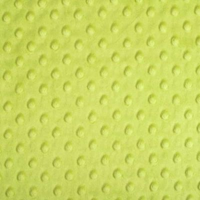 Shannon Fabrics - Cuddle Dimple Plush Fabric - Apple Green