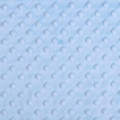 Shannon Fabrics - Cuddle Dimple Plush Fabric - Baby Blue