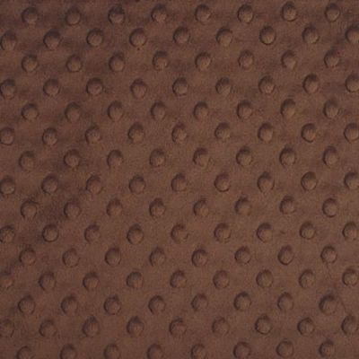 Shannon Fabrics - Cuddle Dimple Plush Fabric - Brown