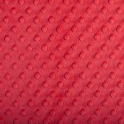Shannon Fabrics - Cuddle Dimple Plush Fabric - Cherry Red