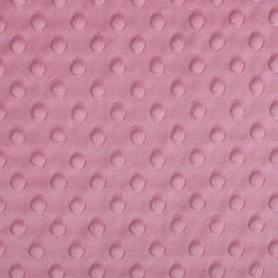 Shannon Fabrics - Cuddle Dimple Plush Fabric - Dusty Rose