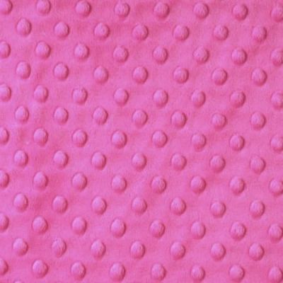 Shannon Fabrics - Cuddle Dimple Plush Fabric - Fuchsia