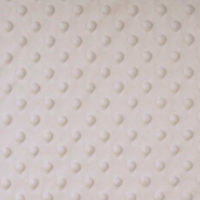 Shannon Fabrics - Cuddle Dimple Plush Fabric - Ivory