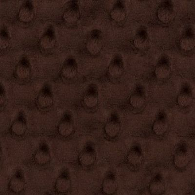 Shannon Fabrics - Cuddle Dimple Plush Fabric - Mahogany