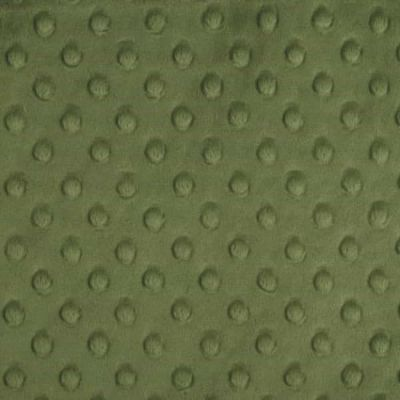Shannon Fabrics - Cuddle Dimple Plush Fabric - Olive