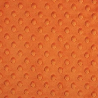 Shannon Fabrics - Cuddle Dimple Plush Fabric - Orange