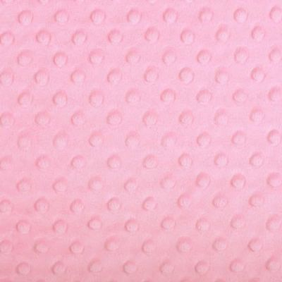 Shannon Fabrics - Cuddle Dimple Plush Fabric - Paris Pink