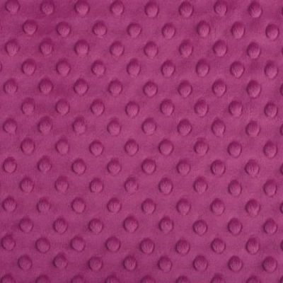 Shannon Fabrics - Cuddle Dimple Plush Fabric - Raspberry
