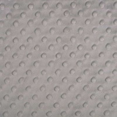 Shannon Fabrics - Cuddle Dimple Plush Fabric - Silver