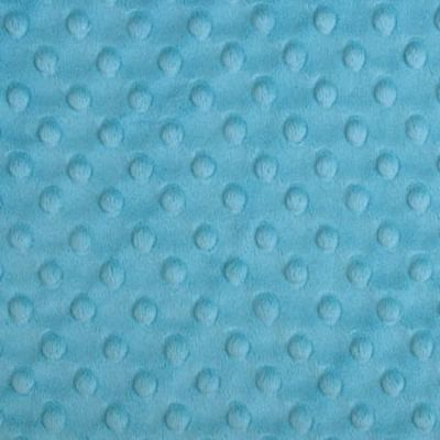 Shannon Fabrics - Cuddle Dimple Plush Fabric - Turquoise