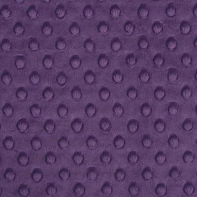 Shannon Fabrics - Cuddle Dimple Plush Fabric - Violet