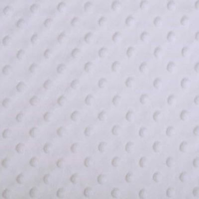 Shannon Fabrics - Cuddle Dimple Plush Fabric - White