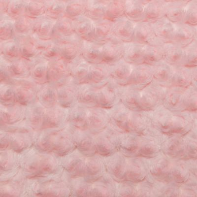 Shannon Luxe Cuddle Rose Plush Fabric - Baby Pink