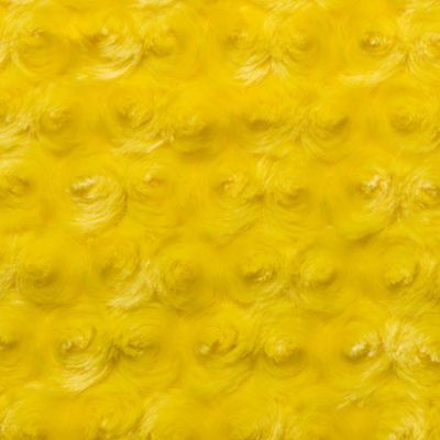 Shannon Luxe Cuddle Rose Plush Fabric - Canary