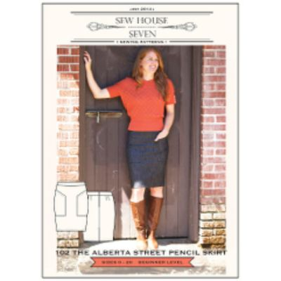 Sew House Seven - Alberta Street Pencil Skirt Pattern