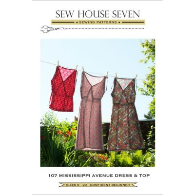 Sew House Seven -  Mississippi Avenue Dress & Top Pattern