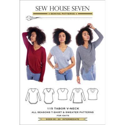 Sew House Seven -  Tabor V-Neck Top Pattern