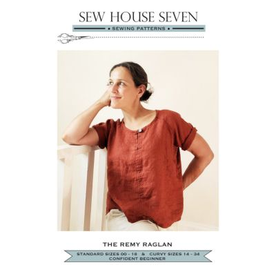 Sew House Seven -  The Remy Raglan Top Pattern