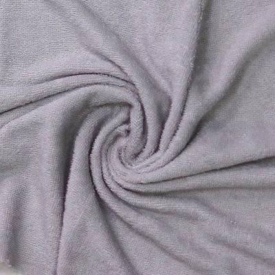 Top Quality Bamboo Terry Towelling - Silver Grey