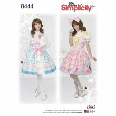 Simplicity Sewing Pattern 8444  Misses' Lolita Costume