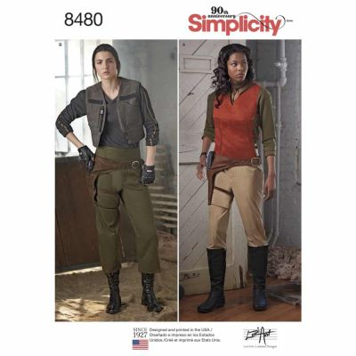 Simplicity Sewing Pattern 8480 Women_s Costumes