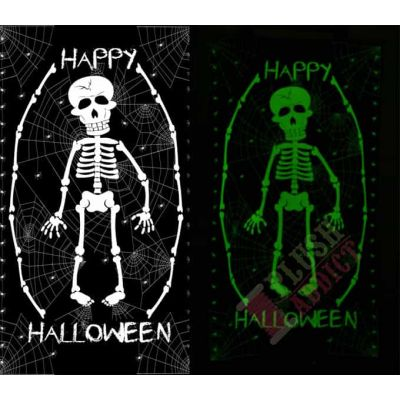 Blank Textiles - The Boo Crew - Happy Halloween Glow In The Dark 60cm Panel