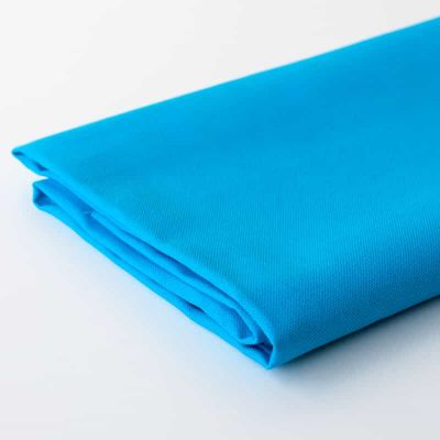 Turquoise Solid Cotton Canvas Fabric