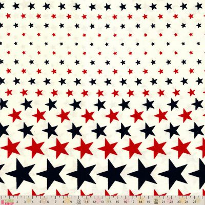 Cosmo - Red / Navy Stars Oxford Cloth