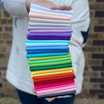 Makower - Spectrum - Fat Quarter Mega Bundle - 30 Fabrics