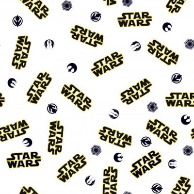 Cotton Poplin Fabric - Star Wars