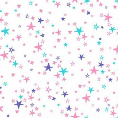 Shannon Cuddle Plush Fabric  - Shan Hot Pink and Iris Starbright Cuddle