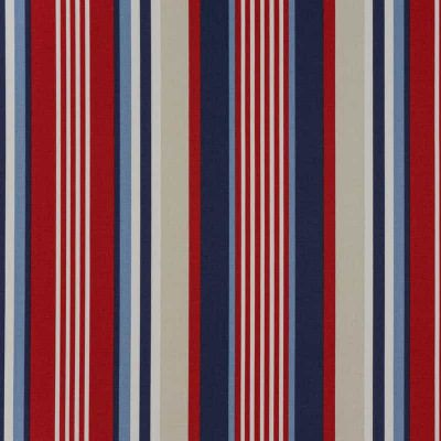 Top Stripe - Blue - Curtain Fabric