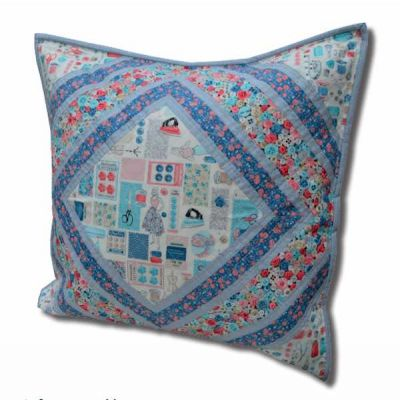 Makower - Stitch In Time - Cushion Pattern - Free Instant Download