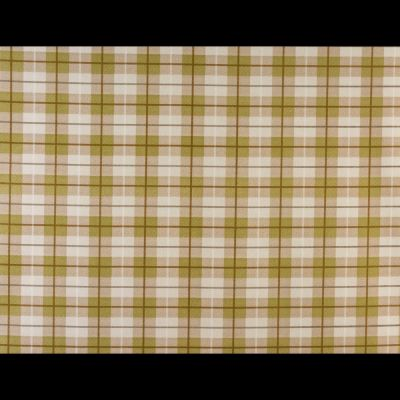 Laminated Cotton - Tartan - Green
