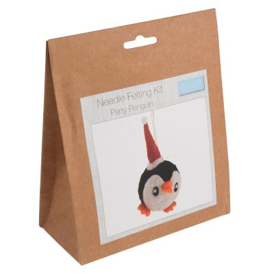 Trimits Needle Felting Kit: Party Penguin