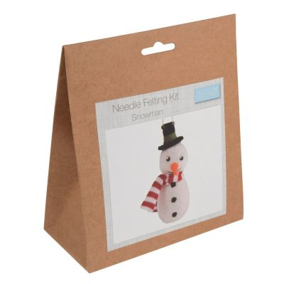 Trimits Needle Felting Kit: Snowman