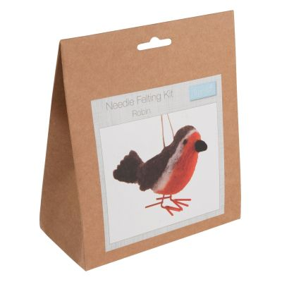 Trimits Needle Felting Kit: Robin