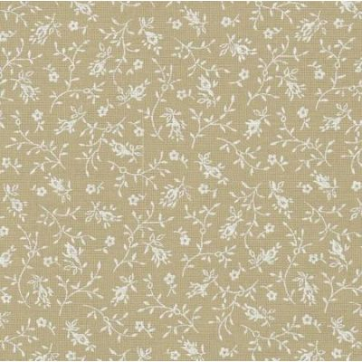 Tea Stain Floral Sprays Extra Wide Backing Fabric