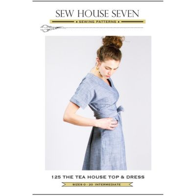 Sew House Seven -  Tea House Top & Dress Pattern