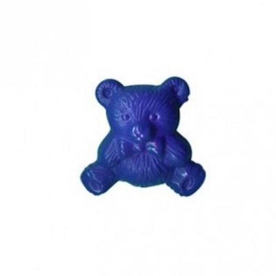 Nylon Teddy Bear Shank Button 15mm / 24L - Dark Blue
