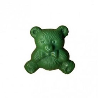 Nylon Teddy Bear Shank Button 15mm / 24L - Green