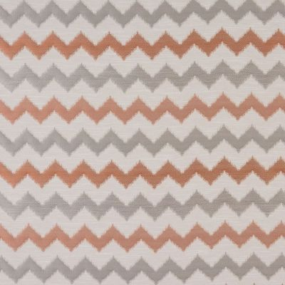 Verne - Terracotta - Curtain Fabric