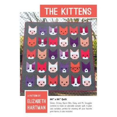 Elizabeth Hartman - The Kittens Quilt Pattern
