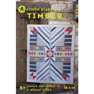 Alison Glass Quilt Patterns -  Timber Quilt Pattern