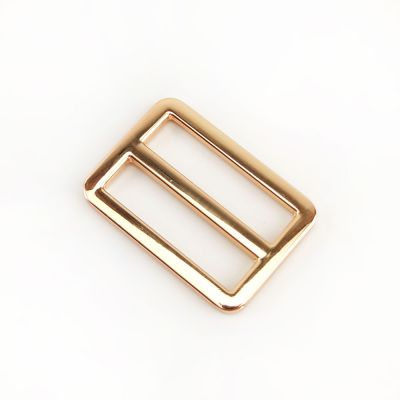 Metal Tri Glide Bag Buckles 38mm - For Bag Straps - Gold