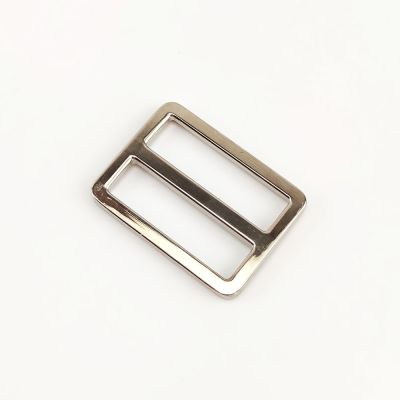 Metal Tri Glide Bag Buckles 38mm - For Bag Straps - Silver