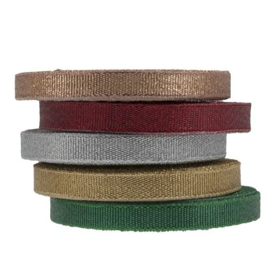 Metallic Ribbon 9mm Wide - 5 Colours